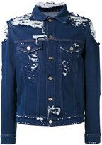 Golden Goose Deluxe Brand distressed denim jacket - men - Cotton - M