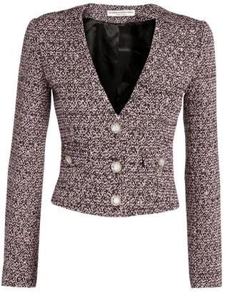 Alessandra Rich Sequin Tweed Jacket