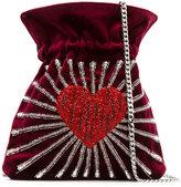 Les Petits Joueurs heart bucket bag