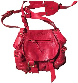 Jerome Dreyfuss Twee Red Water snake Handbags