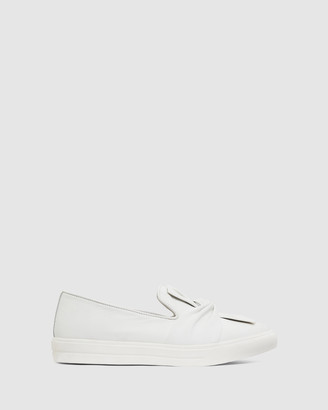 Sandler - Women's White Lifestyle Sneakers - Talia - Size One Size, 37 at The Iconic