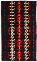 Pendleton Jerome Oversized Jacquard Beach Towel in Maroon