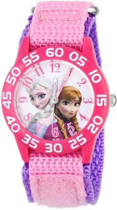 Disney Kids' W001790 Frozen Elsa and Anna Watch