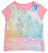 Jessica Simpson Girls 2-6x Tropical Tee