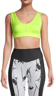 Wear It To Heart Cross-Back Sports Bra