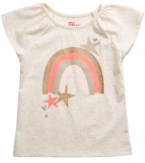 Epic Threads Toddler Girls Rainbow Star T-Shirt, Created for Macy's
