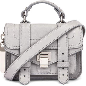 Proenza Schouler Micro PS1 Bag in Fog | FWRD