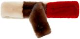 Marni Doble Ring Mink Belt