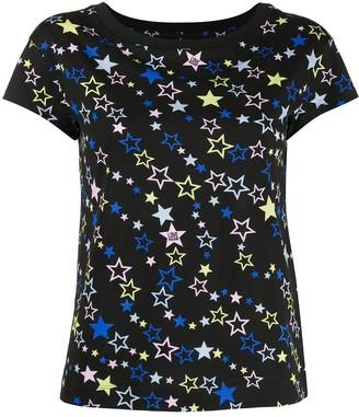 Love Moschino star print short-sleeve T-shirt