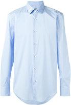 HUGO BOSS classic shirt - men - Cotton/Polyamide/Spandex/Elastane - 43
