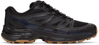 Salomon Black XT-Wings 2 Advanced Low Top Sneakers