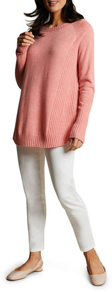 Blue Illusion Swing Long Sleeve Knit