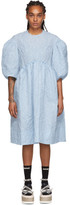 Simone Rocha Blue Smock Dress