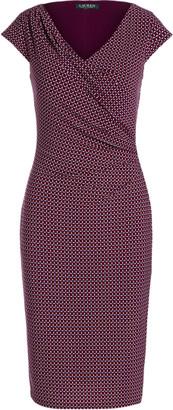 Ralph Lauren Geometric-Print Jersey Dress