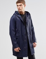 Pretty Green Parka In Navy
