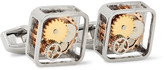 Tateossian - Gear Rhodium-plated Cufflinks
