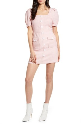Endless Rose Puff Sleeve Minidress