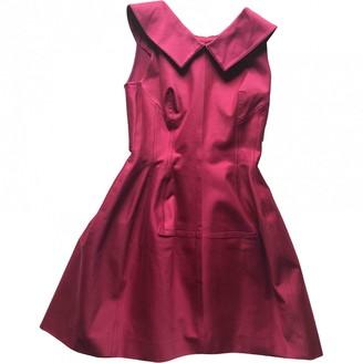 Alaia Red Cotton Dresses