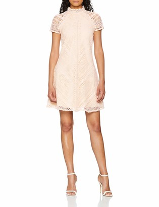 Little Mistress Women's Lace Shift Party Dress
