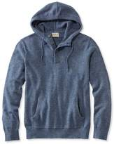 L.L. Bean Summerweight Sweater, Henley Hoodie Slightly Fitted