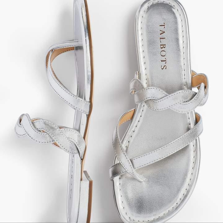 Talbots Gia Twist Sandals - Metallic
