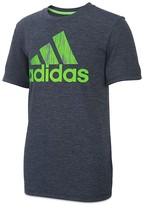 adidas Boys' Logo Performance Tee - Big Kid