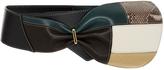 Marni Leather Skinny Tie Belt