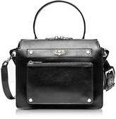 Zadig & Voltaire James Black Leather Shoulder Bag