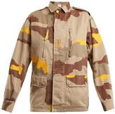 MYAR 1980s FRJ98 French camouflage cotton jacket