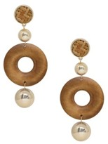 Ettika Beechwood Statement Earrings