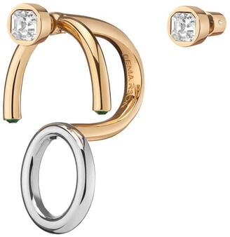 DEMARSON Nova 2.0 Ring/Earring Set