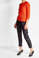 Victoria Beckham Metallic Thread Pullover with Cotton