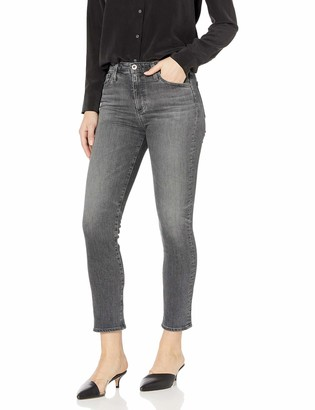 AG Jeans Women's Isabelle Highrise Straight Leg Crop Jean