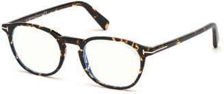Tom Ford Blue Block Square Acetate Optical Frames