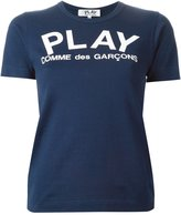 Comme des Garcons logo print T-shirt - women - Cotton - XS