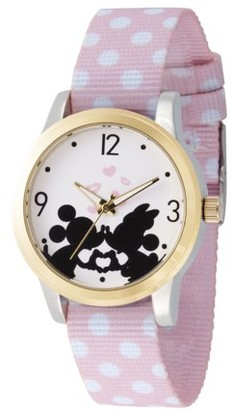Disney Mouse Women's Two Tone Alloy Watch, 1-Pack