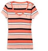 Tommy Hilfiger Final Sale- Short Sleeve Stripe Tee