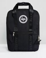 Hype Tote Backpack In Black