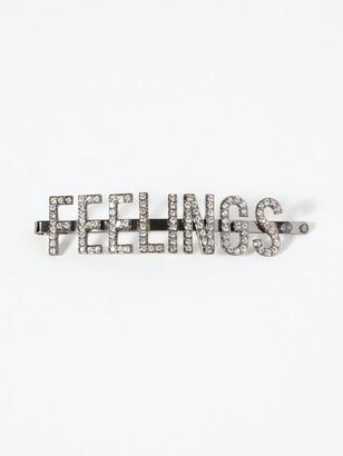 "Kitsch Feelings"" Rhinestone Bobby Pin"