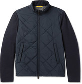 Canali - Quilted Shell And Wool Jacket