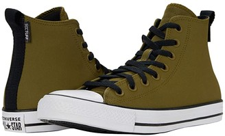 Converse Chuck Taylor All Star Tec Tuff Hi (Dark Moss/White/Black) Athletic Shoes