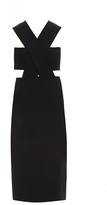 Cushnie et Ochs Bow Back Dress