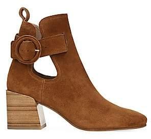 Via Spiga Women's V-Darcie Cutout Suede Ankle Boots