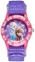 Disney Disney's Frozen Anna & Elsa Girls' Time Teacher Watch