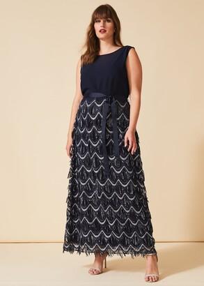 Phase Eight Ariel Beaded Maxi Dress
