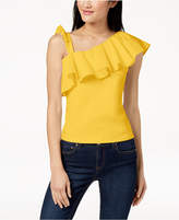 The Edit By Seventeen Juniors' Ruffled Top, Created for Macy's