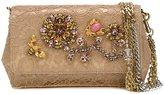 Dolce & Gabbana 'Anna' clutch - women - Cotton/Nylon/Rayon/glass - One Size