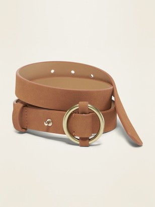 Old Navy O-Ring Fashion Belt for Women (1-inch)