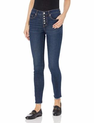 CHAPS Jeans Women's Mid Rise Skinny Full Length Jean