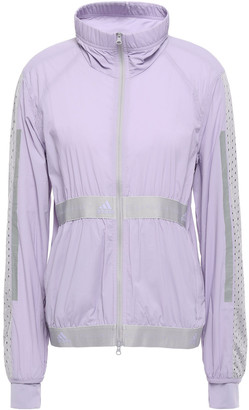 adidas by Stella McCartney Mesh-paneled Shell Track Jacket